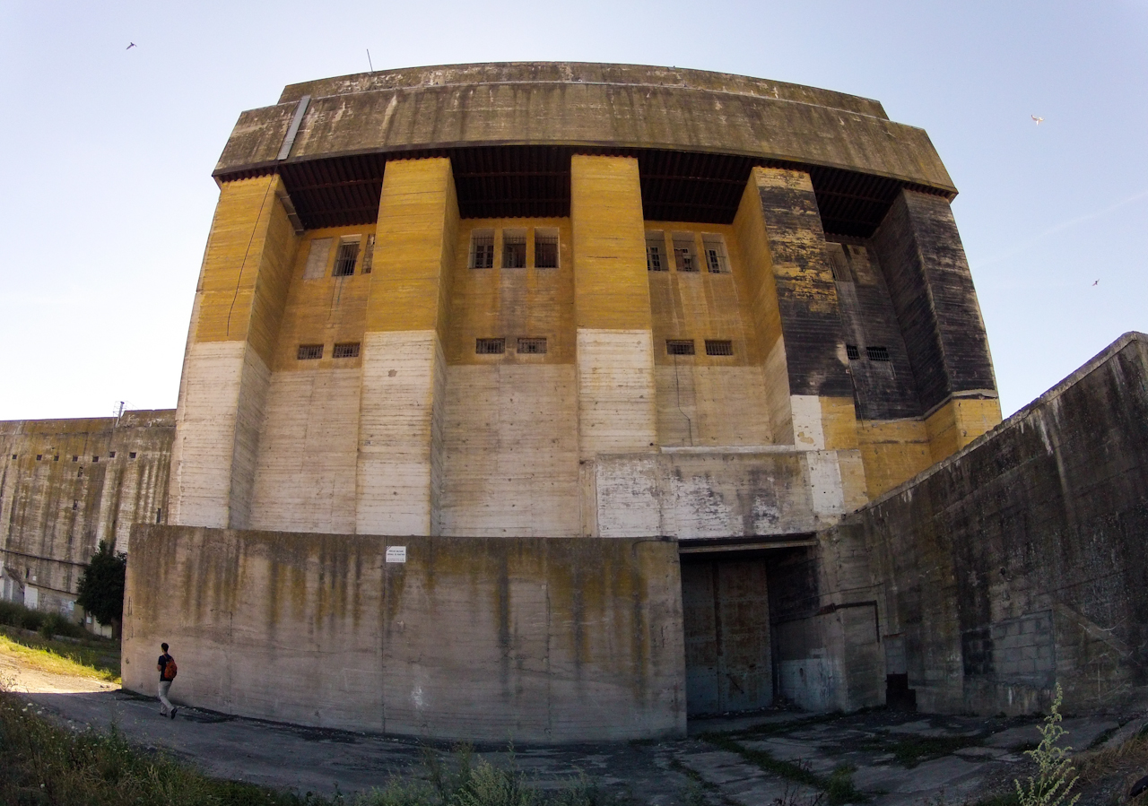 Submarine bunker